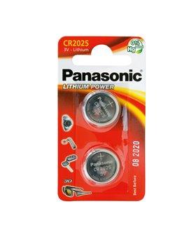 Pila Specialistica Panasonic - CR2025 - 3V - C302025 (Conf. 2)