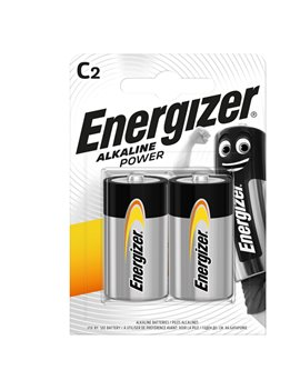 Pila Energizer Alkaline Power - Mezzatorcia C - 1,5 V - E300803700 (Conf. 2)