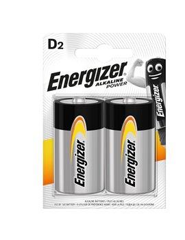 Pila Energizer Alkaline Power - Torcia D - 1,5 V - E300803900 (Conf. 2)