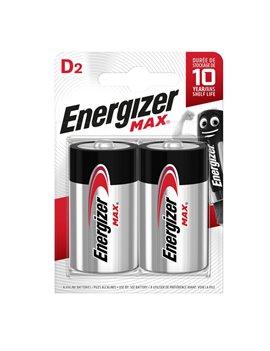 Pila Energizer Max - Torcia D - 1,5 V - E301533400 (Conf. 2)