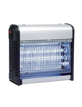 Zanzariera Elettrica Zanza Zap CFG - 16 LED - EZ003 (Argento e Nero)