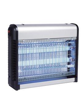 Zanzariera Elettrica Zanza Zap CFG - 20 LED - EZ004 (Argento e Nero)