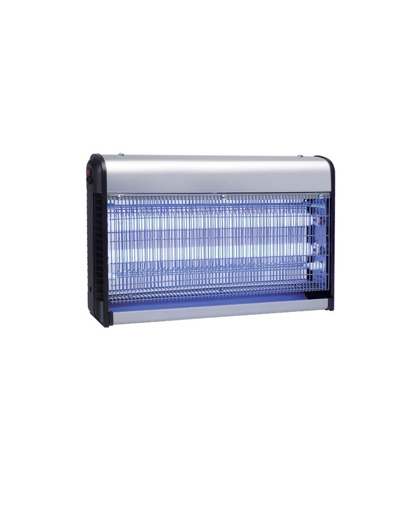 Zanzariera Elettrica Zanza Zap CFG - 40 LED - EZ005 (Argento e Nero)