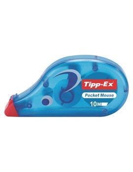 Correttore a Nastro Pocket Mouse Tipp-Ex Bic - 4,2 mm x 10 m - 8207891 (Conf. 10)