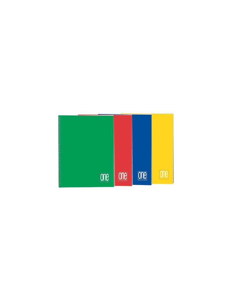 Blocco Spiralato One Color Blasetti - 16,2x21 cm - 4 mm - 60 Fogli