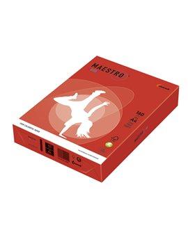 Carta Colorata Maestro Color Mondi - A4 - 160 g - 7221 (Rosso Forte Conf. 250)