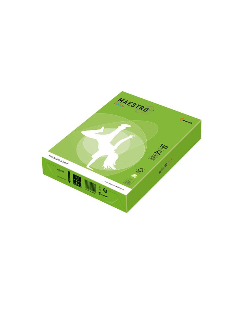 Carta Colorata Maestro Color Mondi - A4 - 160 g - 7243 (Verde Forte Conf. 250)