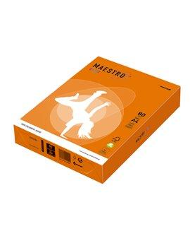 Carta Colorata Maestro Color Mondi - A4 - 80 g - 7020 (Arancio Forte Conf. 250)