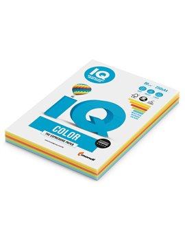 Carta Colorata IQ Color Mondi - A4 - 160 g - 3881 (Assortiti Forti Conf. 100)
