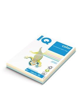 Carta Colorata IQ Color Mondi - A4 - 160 g - 3880 (Assortiti Tenui Conf. 100)