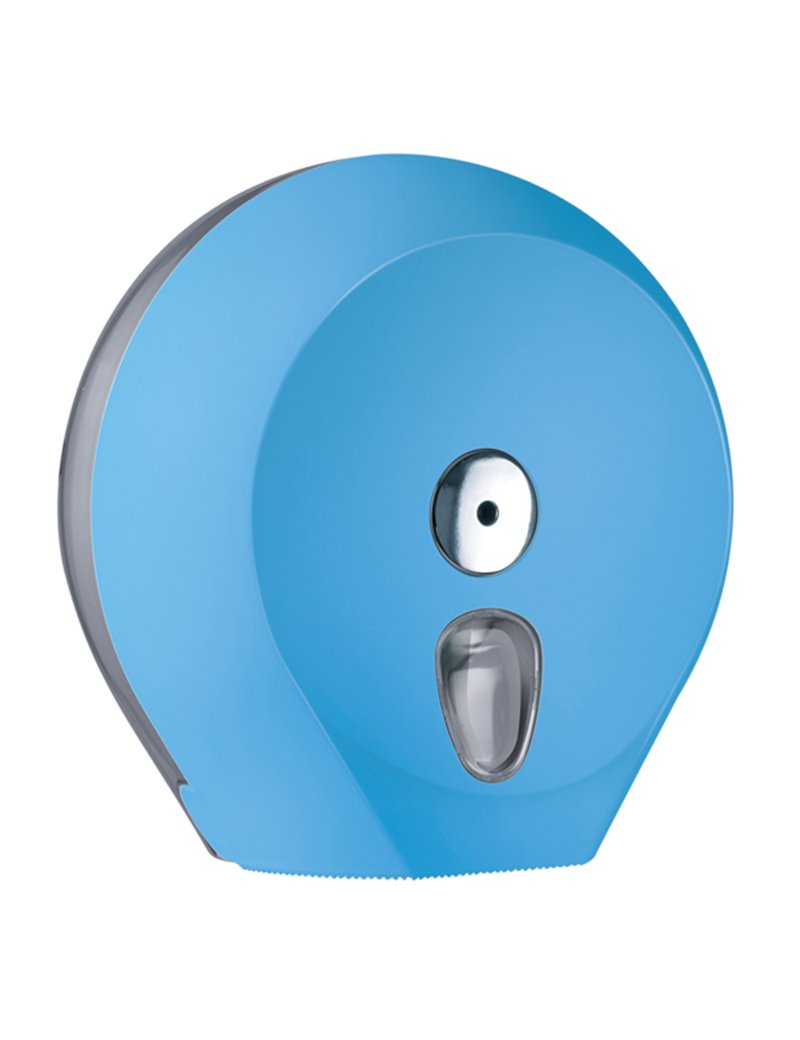 Dispenser per Carta Igienica Mini Jumbo Mar Plast - 27x12,8x27,3 cm - A75610AZ (Azzurro)