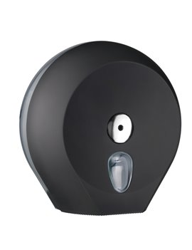 Dispenser per Carta Igienica Mini Jumbo Mar Plast - 27x12,8x27,3 cm - A75610NE (Nero)