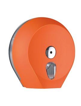 Dispenser per Carta Igienica Mini Jumbo Mar Plast - 27x12,8x27,3 cm - A75610NE (Arancione)