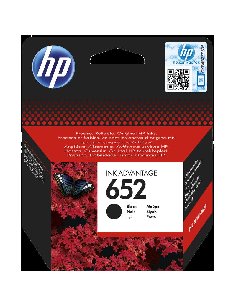 Cartuccia Originale HP F6V25AE 652 (Nero 360 pagine)