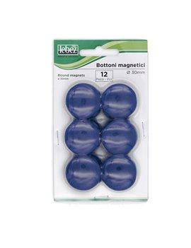 Magneti per Lavagne Lebez - 23 mm - MR-30-BL (Blu Conf. 12)