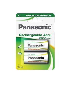 Pile Ricaricabili Ready to Use Panasonic - Mezzatorcia C - C307014 (Conf. 2)