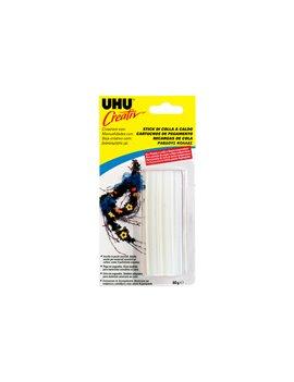 Colla Termofusibile in Stick UHU - 10 cm - D1522 (Bianco Conf. 60 g)