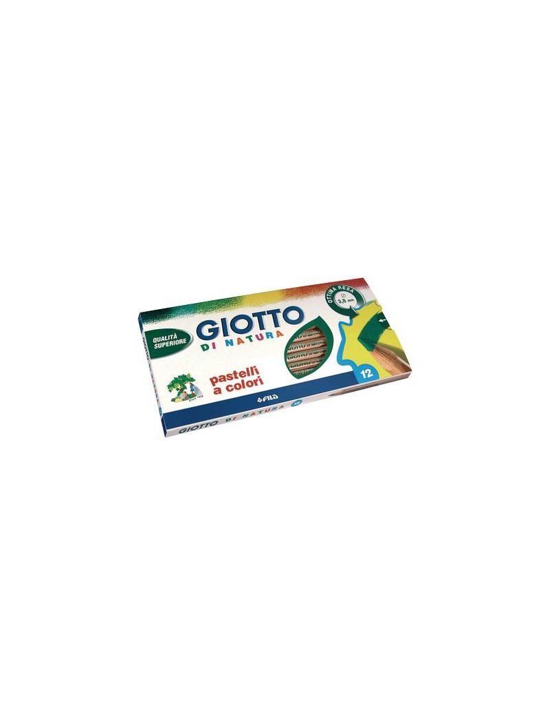 Pastelli Di Natura Giotto Fila - 3,8 mm (Assortiti Conf. 12)