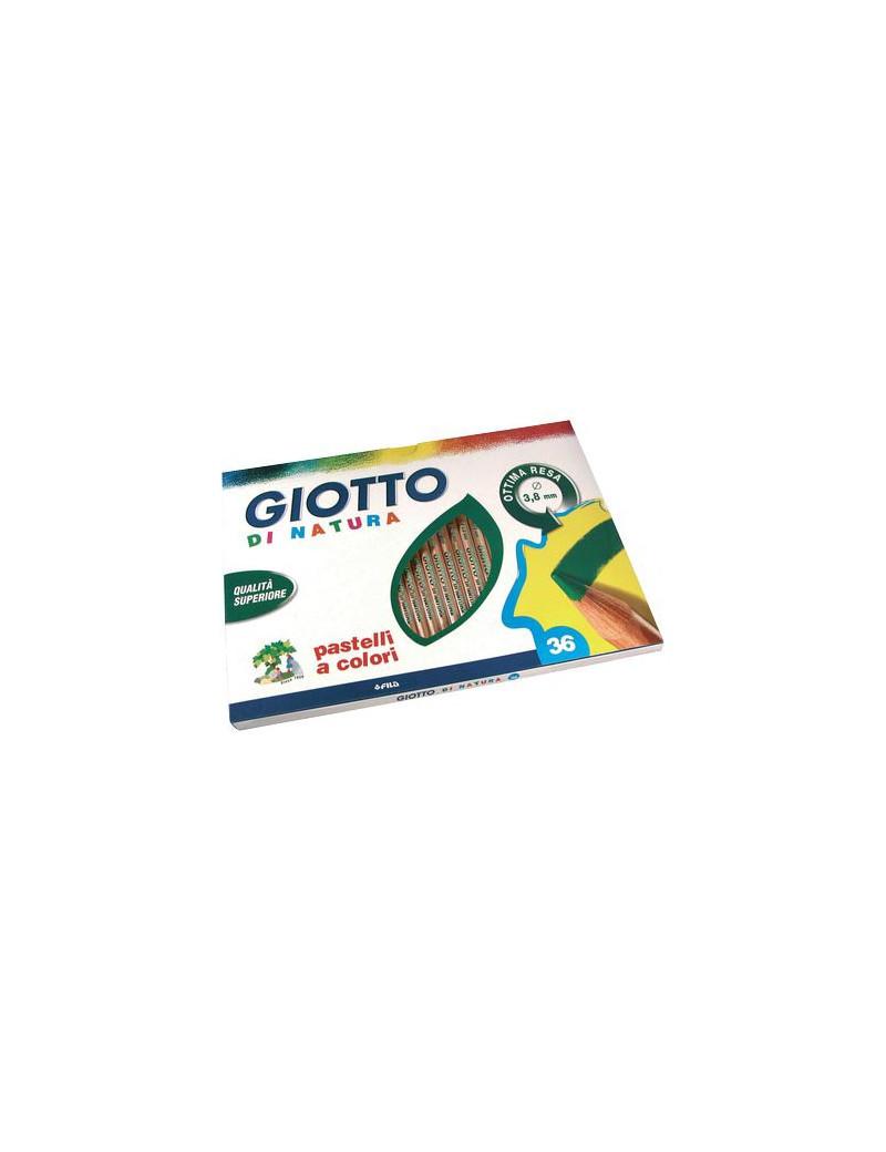Pastelli Di Natura Giotto Fila - 3,8 mm (Assortiti Conf. 36)