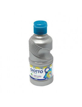 Tempera Acrilica Giotto - 250 ml (Argento)