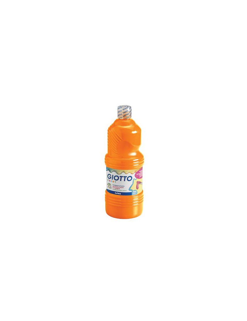 Tempera Pronta Giotto - 1000 ml (Arancio)