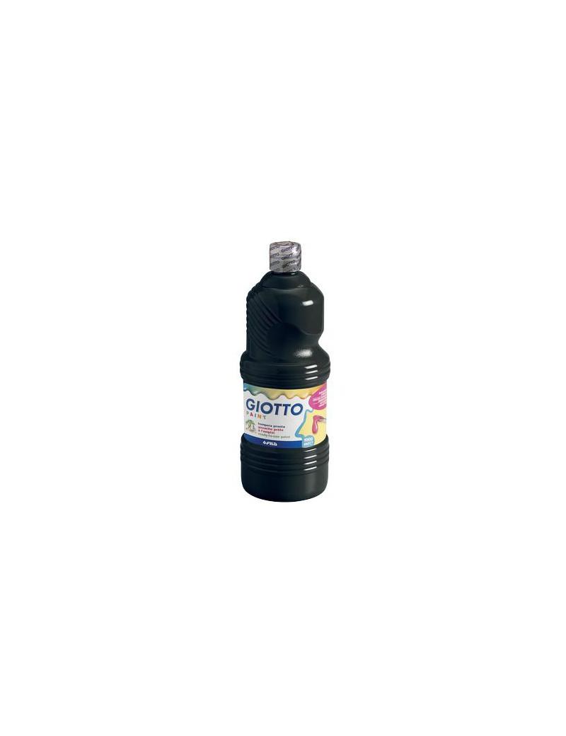 Tempera Pronta Giotto - 1000 ml (Nero)