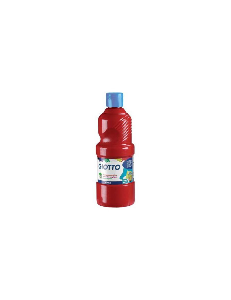 Tempera Pronta Giotto - 1000 ml (Rosso Vermiglio)