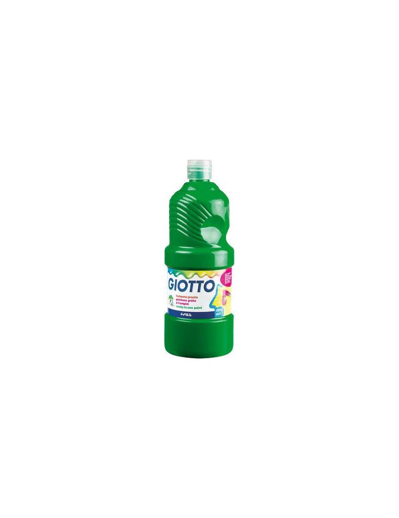 Tempera Pronta Giotto - 1000 ml (Verde)