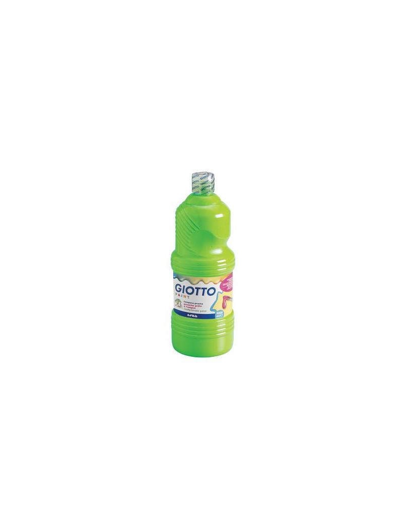 Tempera Pronta Giotto - 1000 ml (Verde Cinabro)