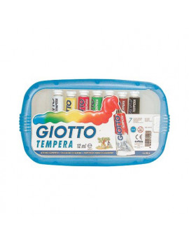 Tubetto Tempera Giotto - 12 ml (Assortiti Conf. 7)