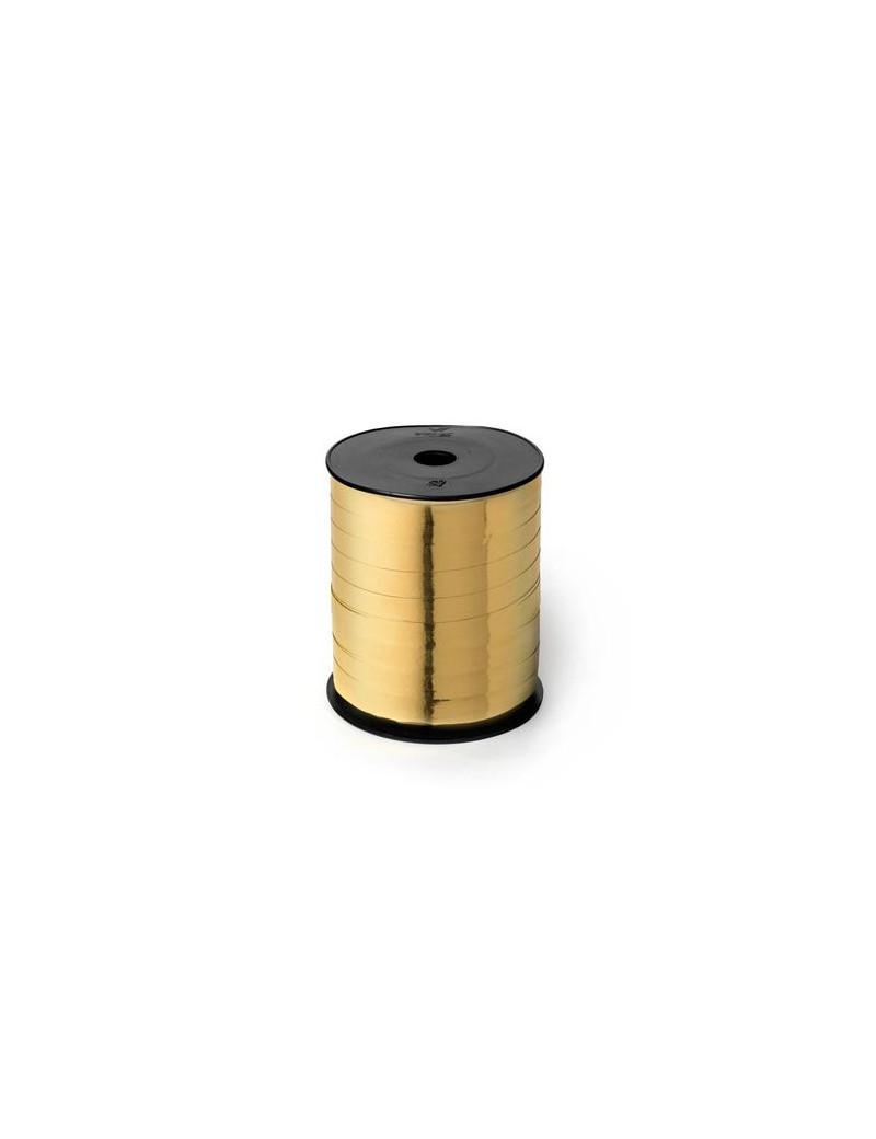 Nastro in Rocchetto per Regali 6870 Brizzolari - 10 mm x 250 m - 00237303 (Oro Metallizzato)