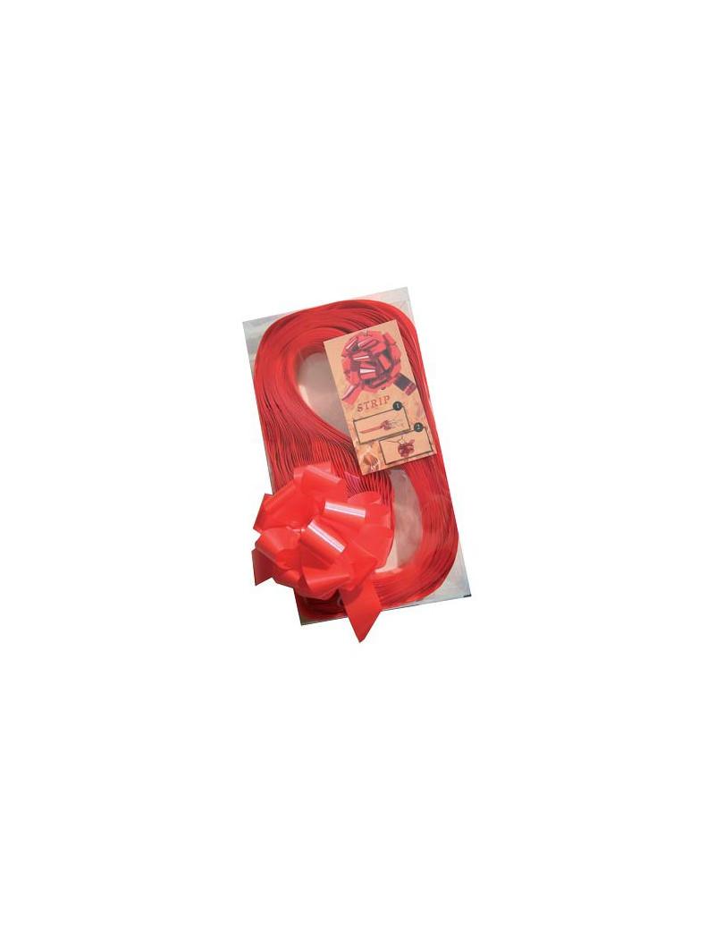 Nastro Strip 6870 Brizzolari - 31 mm x 130 cm - 00314007 (Rosso Metallizzato Conf. 30)