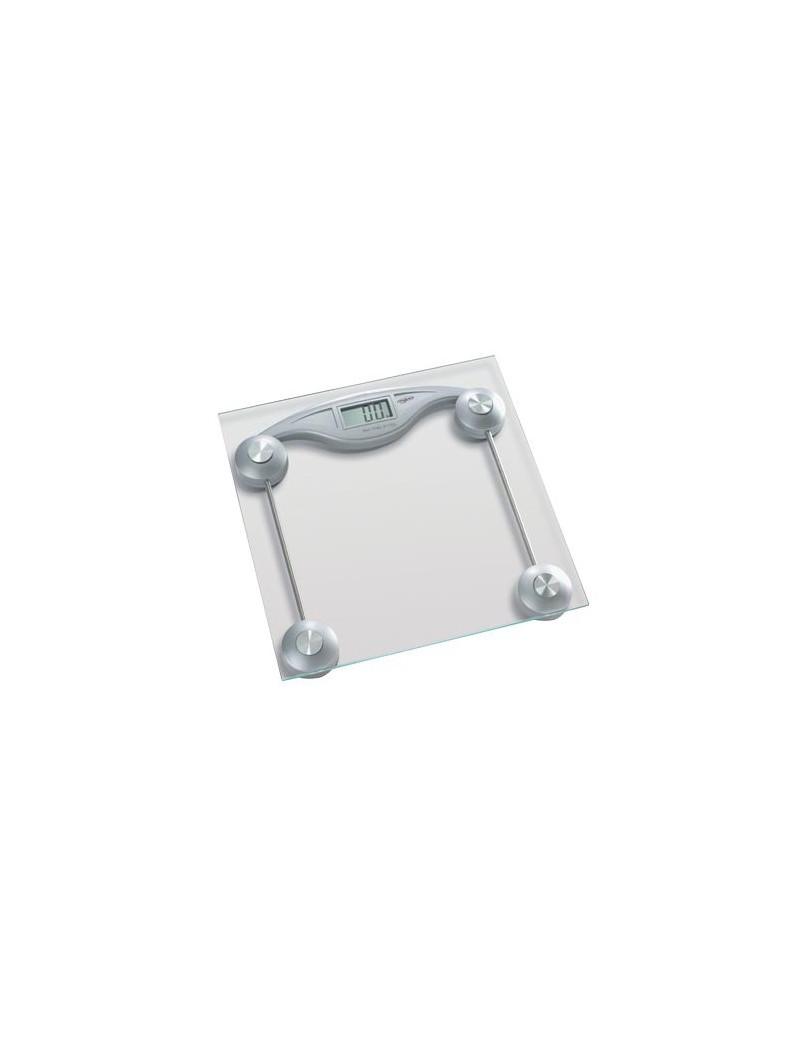 Bilancia Elettronica Pesapersone Melchioni - 150 kg - 118230011 (Cristallo)