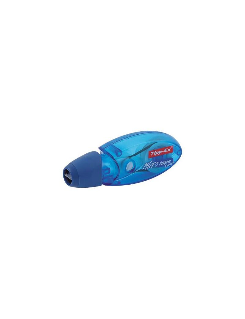 Correttore a Nastro Micro-Tape Twist Tipp-Ex Bic - 5 mm x 8 m - 8706151 (Conf. 10)