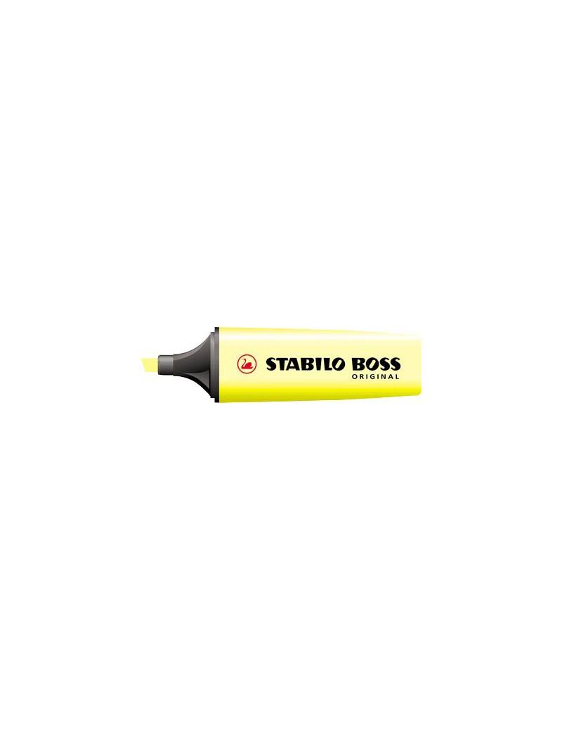 Evidenziatore Boss Original Stabilo - 70/24 (Giallo Conf. 10)