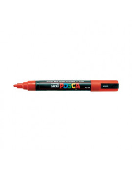 Marcatore a Tempera Uni Posca PC5M Uni-Ball - Punta Tonda - 1,8-2,5 mm - M-PC5M-G (Giallo)