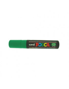 Marcatore a Tempera Uni Posca PC17K Uni-Ball - Punta Scalpello - 15 mm - M-PC17K-V (Verde)
