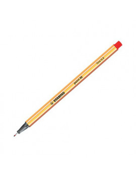 Fineliner Point 88 Stabilo - 0,4 mm - 88/40 (Rosso Conf. 10)