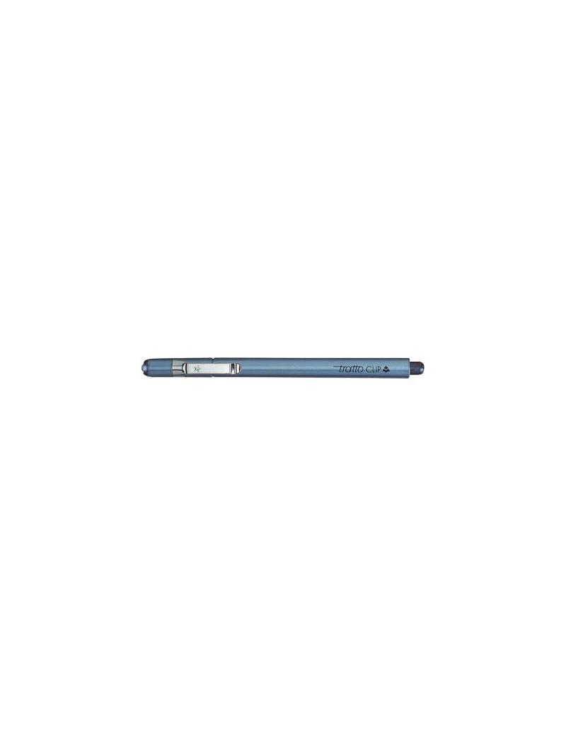 Tratto Clip Fila - 0,3 mm - 803801 (Blu Conf. 12)