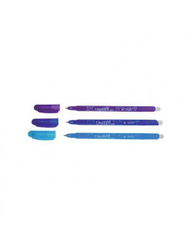 Penna a Sfera Cancellabile Tratto Cancellik - 1 mm (Blu Conf. 12)