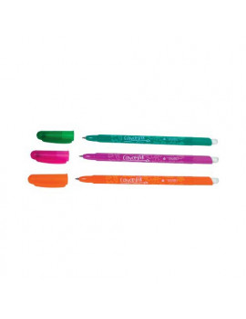 Penna a Sfera Cancellabile Tratto Cancellik - 1 mm (Fucsia Conf. 12)