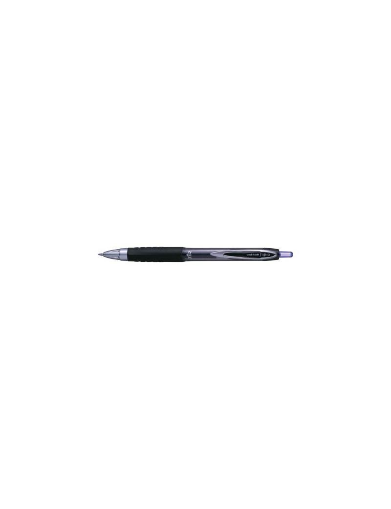 Penna Gel a Scatto Signo Uni-Ball - 0,7 mm - M-UM207-B (Blu)