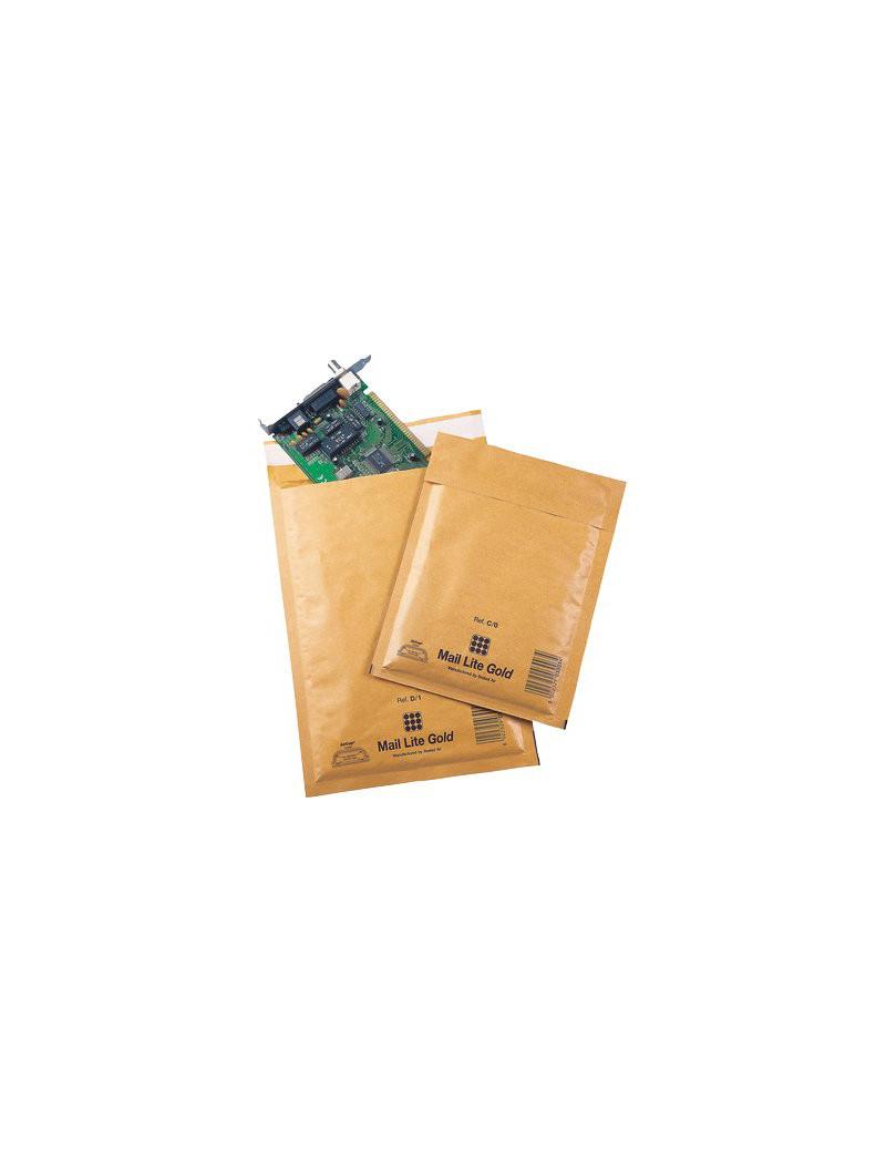 Busta Imbottita a Bolle d'Aria Aircap Sealed Air - 18x16 cm - 103008648 (Avana Conf. 10)