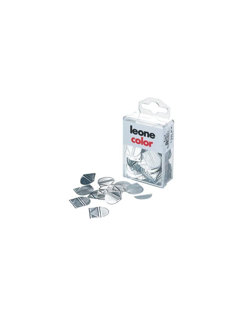 Fermagli Angolari Leone Dell'Era - 18 mm - APPC (Alluminio Brillante Conf. 100)