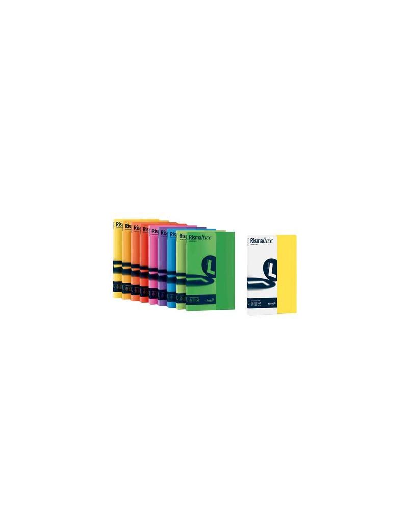 Cartoncino Colorato Rismaluce Favini - A4 - 140 g - A65G204 (Azzurro Forte Conf. 200)